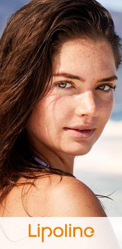 Znamiona barwnikowe na twarzy kobiety
